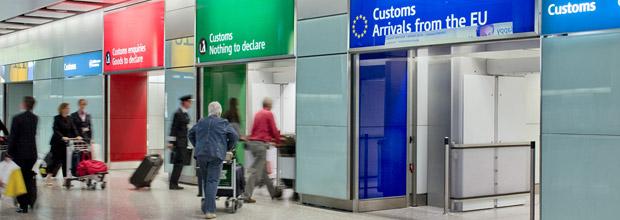 Fortoldning_lufthavn